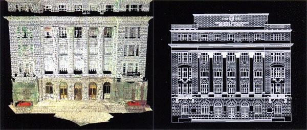 Наземное лазерное сканирование в архитектуре