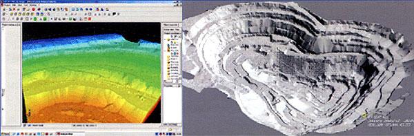 Наземное лазерное сканирование в горной промышленности