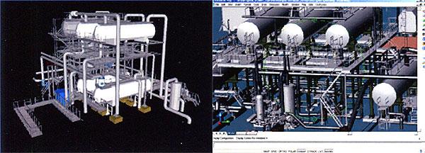 Наземное лазерное сканирование в нефтегазовой промышленности